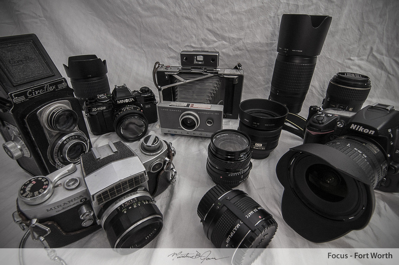 Old and new cameras