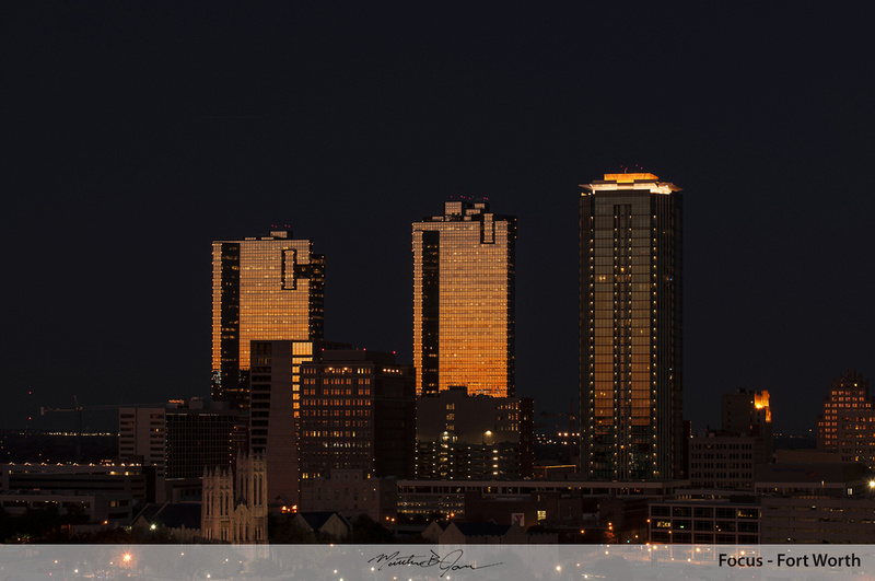 Downtown Fort Worth Night