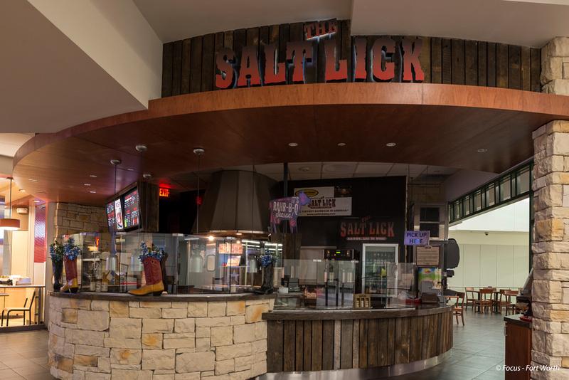"Airport, Contruction, DFW, ""DFW Airport"", ""Fort Worth"", Restaurant, ""Salt Lick"", ""Terminal A"", ""The Salt Lick"", ""Trinity TransCon"""