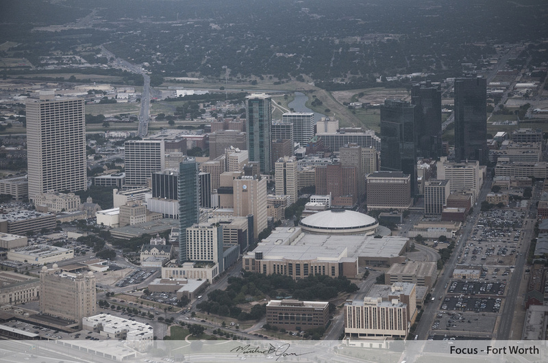 Aerial, Aerial Photography, Architecture, Bass Tower, City, Convention Center, Downtown, Downtown Fort Worth, Fort Worth, Omni, Omni Hotel, Skyline, Skyscraper, T&P Station